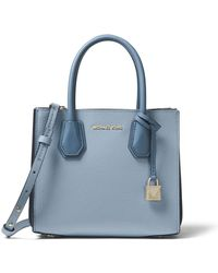 MICHAEL Michael Kors - Mercer Medium Messenger Crossbody Bag - Lyst