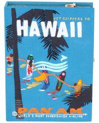 Olympia Le-Tan - Hawaiian Surfers Box Crossbody Bag - Lyst