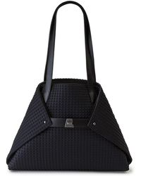 Akris - Ai Small Leather Shoulder Tote Bag - Lyst