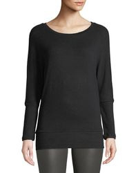Cupcakes And Cashmere - Ivery Crewneck Long-sleeve Sweatshirt - Lyst