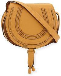 7cc6be89d79 Chloé - Marcie Small Leather Crossbody Bag - Lyst