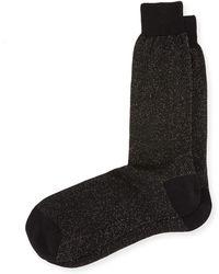 Bresciani - Glitter Formal Socks - Lyst