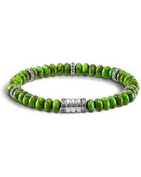John Hardy | Mohave Bedeg Men's Beaded Bracelet | Lyst