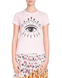 KENZO - Eye-graphic Classic Crewneck T-shirt - Lyst