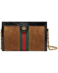 0d6d6556c08 Gucci - Linea Small Chain Shoulder Bag - Lyst