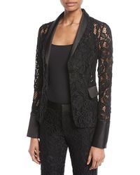 Alexis - Bonis Lace Fitted Blazer - Lyst