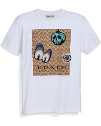 COACH - Disney Dark Fairy Tale Men's Applique T-shirt - Lyst