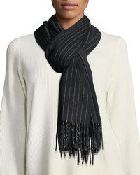 Rag & Bone - Classic Wool Scarf W/ Tassel Edges - Lyst