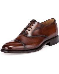 Berluti - Classic Roccia Oxford Shoe - Lyst