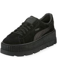 PUMA - Low-top Suede Cleated Creeper Sneaker - Lyst