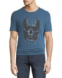 John Varvatos - Men's Faded Skull Graphic T-shirt - Lyst