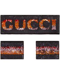 Gucci - Super-shine Sequin Headband & Cuff Set - Lyst