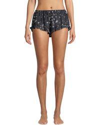 Xirena - Sybella Etoile-print Lounge Shorts - Lyst