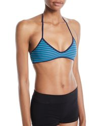 Marc By Marc Jacobs - Radioactive Jane Reversible Halter Bikini Top - Lyst
