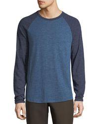 Vince - Men's Color Block Crew Shirt - Lyst