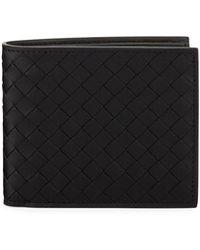 Bottega Veneta - Men's Basic Woven Leather Wallet - Lyst