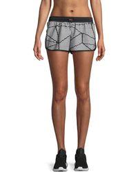 Beyond Yoga - Chromatic Athletic Shorts - Lyst