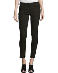 Michael Kors - Five-pocket Skinny Leather Jeans - Lyst