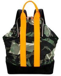 b209439654c Alexander McQueen - Men s De Manta Nylon Backpack - Lyst