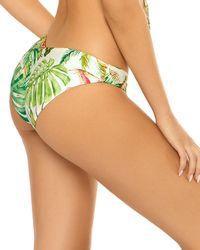 Pilyq - Reversible Ruched Bikini Bottom - Lyst
