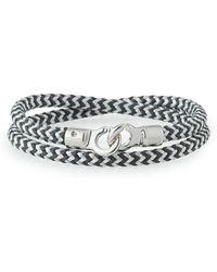 Brace Humanity - Men's Double Tour Braided Wrap Bracelet - Lyst