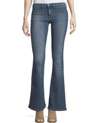 Etienne Marcel | Molly Low-rise Flared Jeans | Lyst