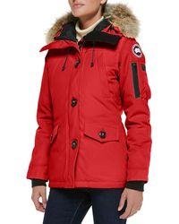 Canada Goose - Montebello Parka With Fur Hood - Lyst
