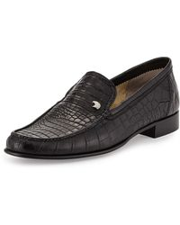 Stefano Ricci - Crocodile Leather Loafer - Lyst