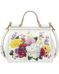 Dolce   Gabbana - Sicily Medium St. Dauphine Flower Shoulder Bag - Lyst c84ebb0985