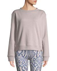 Varley - Albata Long-sleeve Pullover Sweatshirt - Lyst