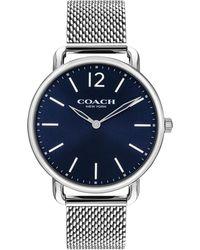 COACH - 40mm Delancey Slim Bracelet Watch - Lyst