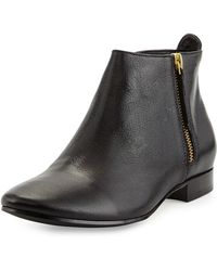 Cole Haan - Belmont Leather Boots - Lyst
