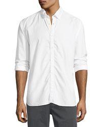 Billy Reid - Irvine Cotton Sport Shirt - Lyst