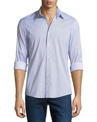 Michael Kors - Slim-fit Printed Shirt - Lyst