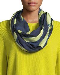 Eileen Fisher - Silk Shibori Intersections Scarf - Lyst