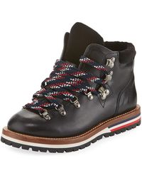 Moncler - Blanche Leather Hiking Boot - Lyst