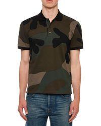 Valentino - Men's Army Camo Polo Shirt - Lyst