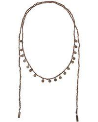 Brunello Cucinelli - Monili And Diamante Coin Wrap Necklace - Lyst