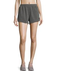 The Upside - Paneled Run Double-fleece Shorts - Lyst