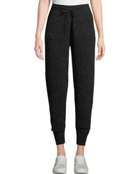Theory - Arleena Speckled Cashmere Jogger Pants - Lyst