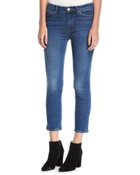 M.i.h Jeans - Niki Mid-rise Crop Skinny Jeans - Lyst