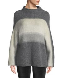 Rag & Bone - Holland Fuzzy Mohair Ombre Pullover Sweater - Lyst