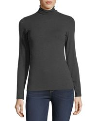 Neiman Marcus - Soft Touch Long-sleeve Turtleneck - Lyst