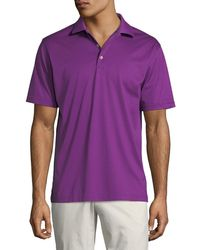 Peter Millar - Men's Crown Ease Solid Polo Shirt - Lyst