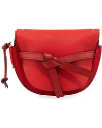 Loewe - Gate Small Calf Shoulder Bag - Lyst