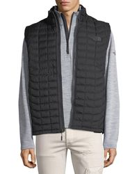 The North Face - Thermoballtm All-weather Quilted Vest - Lyst