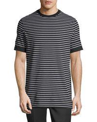 Neil Barrett - Breton Striped Roll-cuff T-shirt - Lyst
