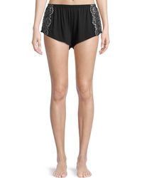 Cosabella - Pret-a-porter Lace-trim Tap Shorts - Lyst
