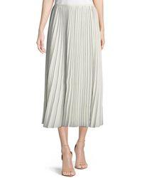 Lafayette 148 New York - Florianna Euphoric Pleated Skirt - Lyst