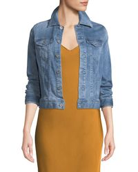AG Jeans - Robyn Button-front Denim Jacket - Lyst